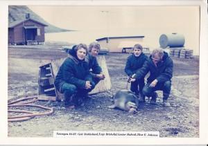 Besetning vinter 1984-85