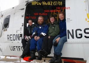 Besetning vinter 2008