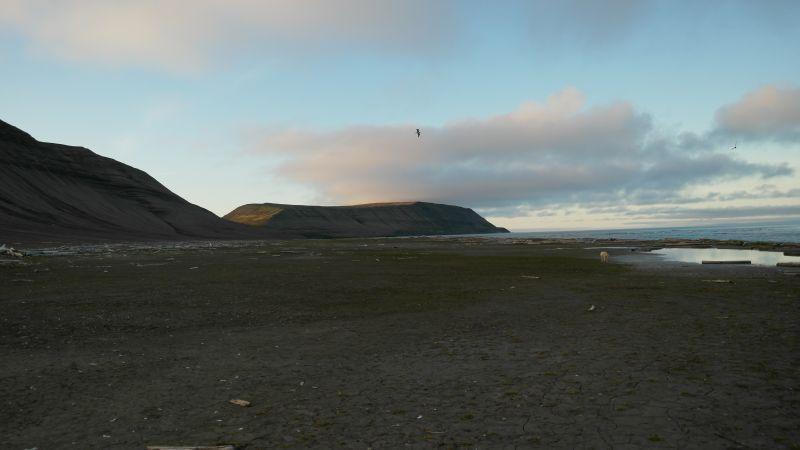 Blåfjell sett fra stranda under Småhumpen (østsiden).