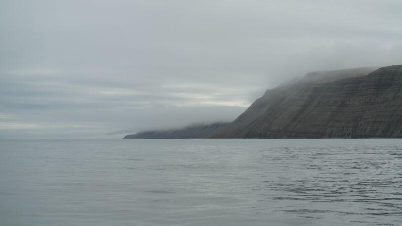 Lyngefjellet sett nordfra fra sjøen.