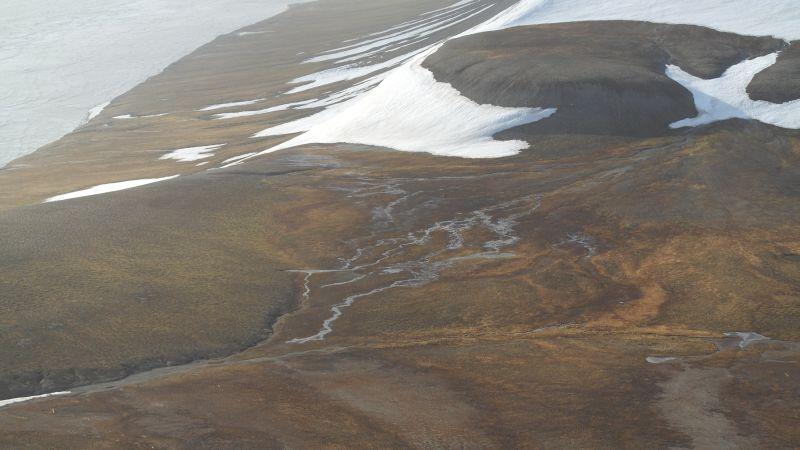 Vestdelen av sletta med begynnelsen av Marmadukeskaret.