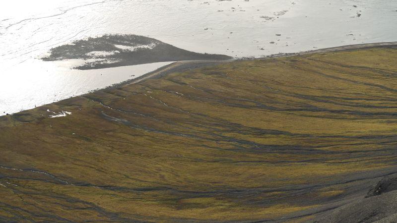 Sett fra nordsida av Kollerfjellet.