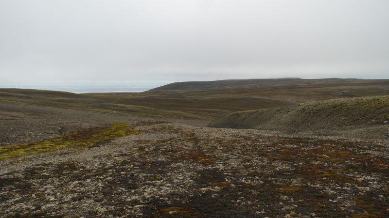 Kollerfjellet sett fra Johan Hjortfjellet med Djupsalen i mellom.