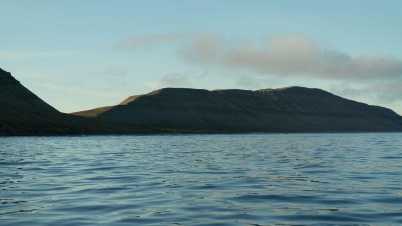 Småhumpen sett fra sjøen utenfor Bjørnebo.