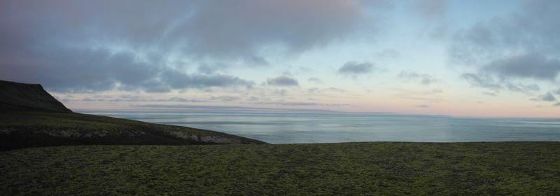 Utsikt østover fra Thorkilsenskaret.