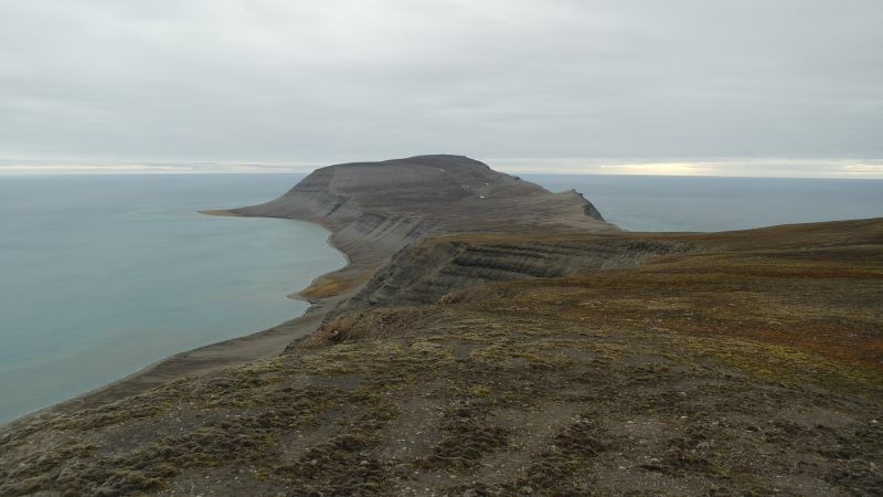 Utsikt fra Werenskioldfjellet.