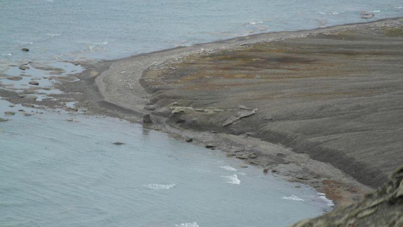 Kvalen sett fra nordøsteggen av Werenskioldfjellet.