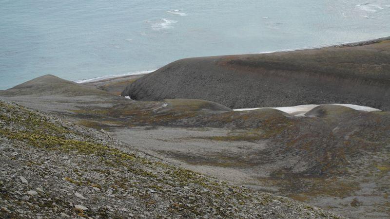 Sett fra siden på Werenskioldfjellet