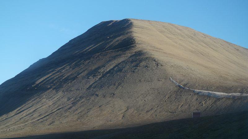 Den kjente og umiskjennelige nordøsteggen på Werenskiold.