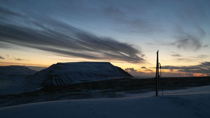 Werenskioldfjellet sett fra Trollkallen