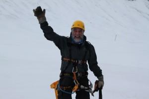 Tøff i trynet før klatring