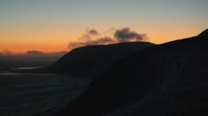 Iversenfjellet og Kofoedodden sett fra østsida av Werenskioldfjellet. Foto: Bjørn Ove Finseth