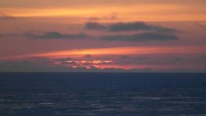 Mens vi venter på at sola skal dukke opp. Foto: Bjørn Ove Finseth