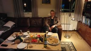 Haftor er klar for ostefest. Foto: Bjørn Ove Finseth