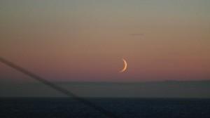 Nymåne. Foto: Bjørn Ove Finseth