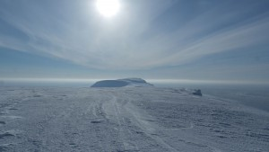 Iversenfjellet sett fra Werenskioldfjellet. Foto: Bjørn Ove Finseth