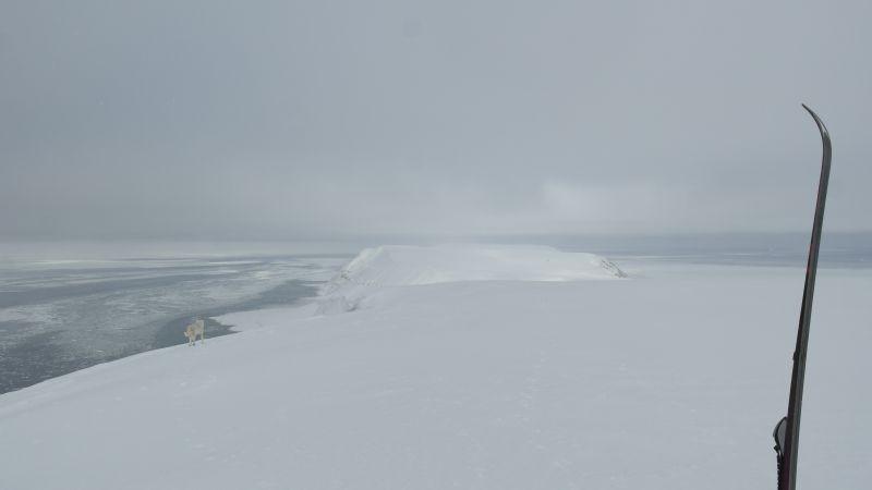 Kollerfjellet sett fra Werenskioldfjellet.