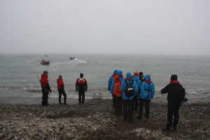 Stor innsats fra Erland og Terje som tok turen over Bjørnesletta med kort og hopenmerker og sørget for stempling av pass.