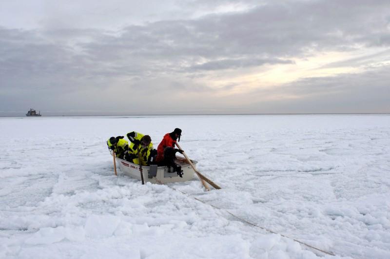 En Rana i Ishavets grep.