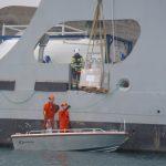 Kystvaktgutta kjørte nybåten med stil! Foto Rune Nilsen